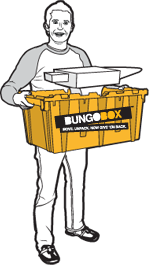 Man with BungoBox