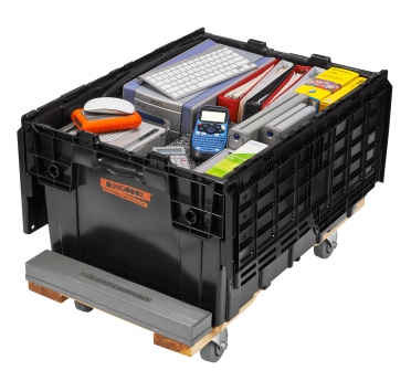 Recyclable Plastic Moving Boxes Bungobox